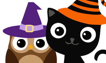 Witch Hat clipart cute owl Halloween Halloween Cliparts Owl Family
