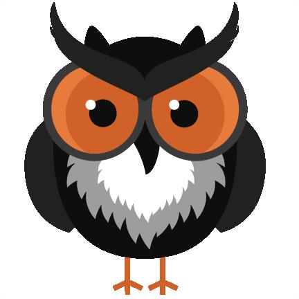 Owlet clipart creepy Cute halloween Cute Halloween owl