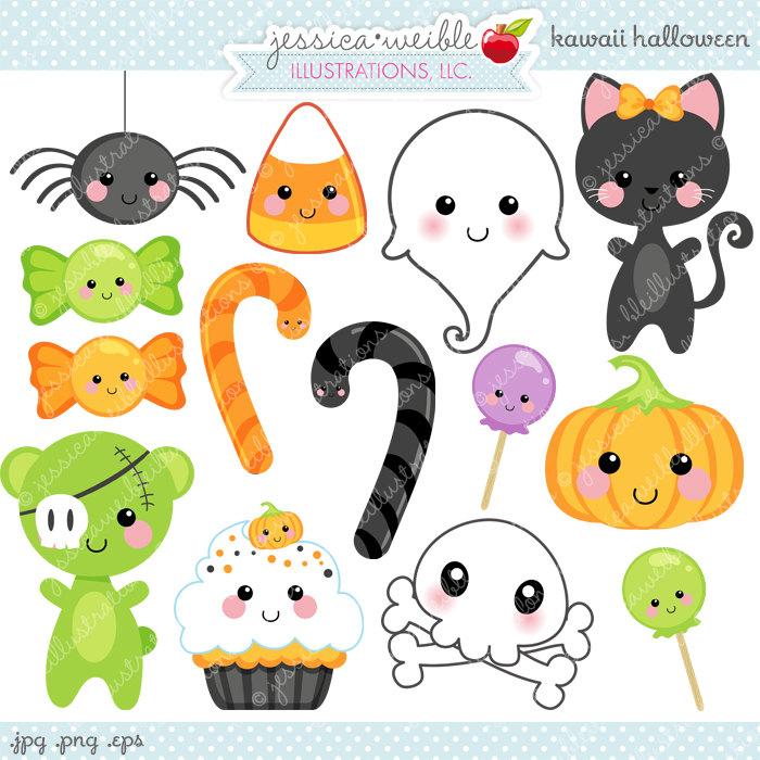 Candy Cane clipart kawaii Cute Kawaii Halloween  Use