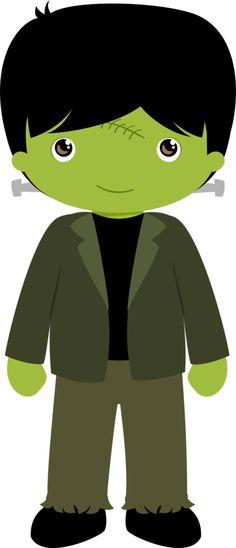 Frankenstein clipart kid CLIP FRANKENSTEIN Minus CardsBoy HalloweenHalloween