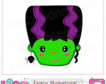 Frankenstein clipart kid Frankenstein Young Frankenstein applique Halloween