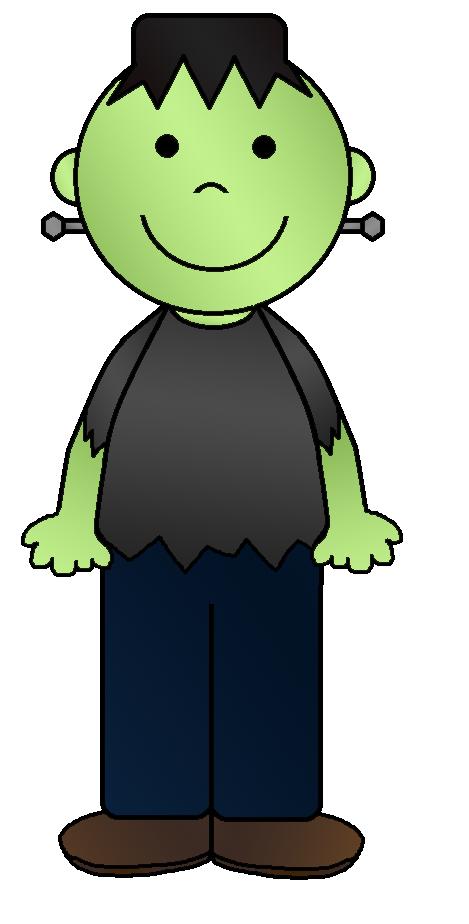 Frankenstein clipart kid Frankenstein Library Art Cliparts Frankenstein