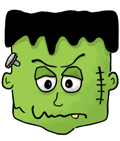 Frankenstein clipart sad Clipart – – Frankenstein kid