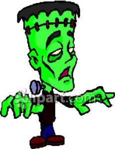 Zombie clipart frankenstein Royalty Frankenstein Clipart Zombie Frankenstein