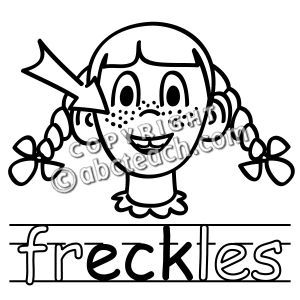 Freckles clipart black and white Freckles – Download Art Freckles
