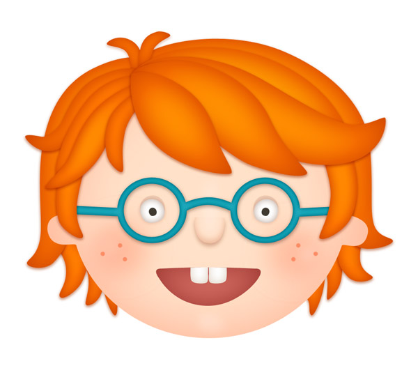Hair clipart red head How a Character Step Create