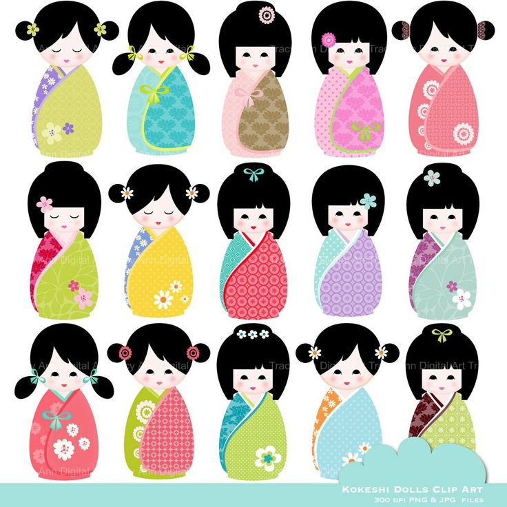 Freckles clipart dall The best images Kokeshi Pinterest