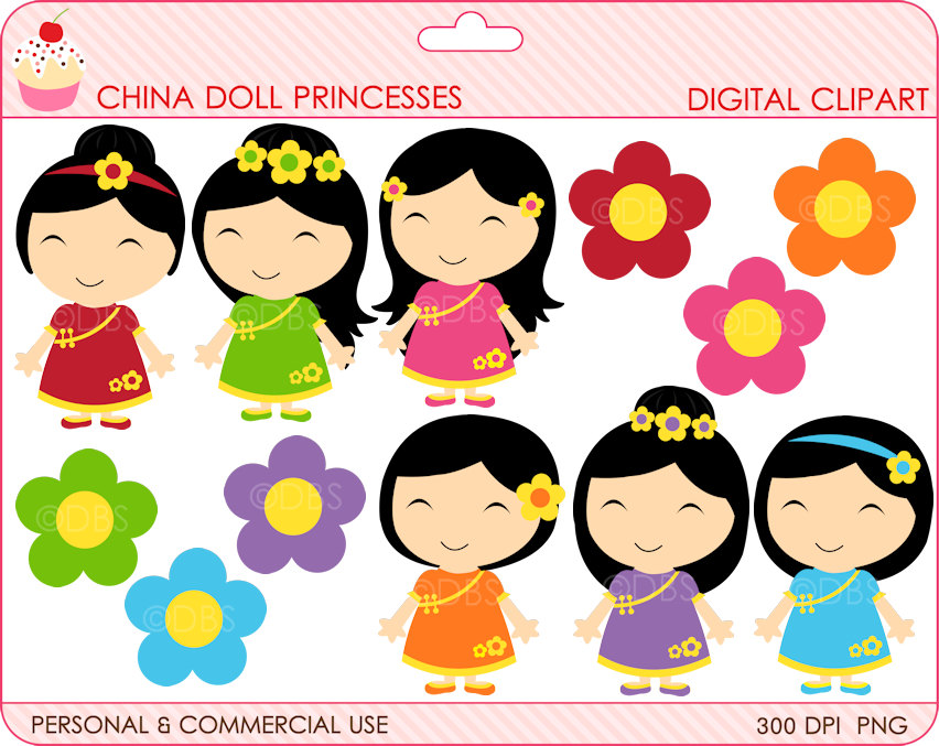 Freckles clipart dall China girls girls chinese BUY