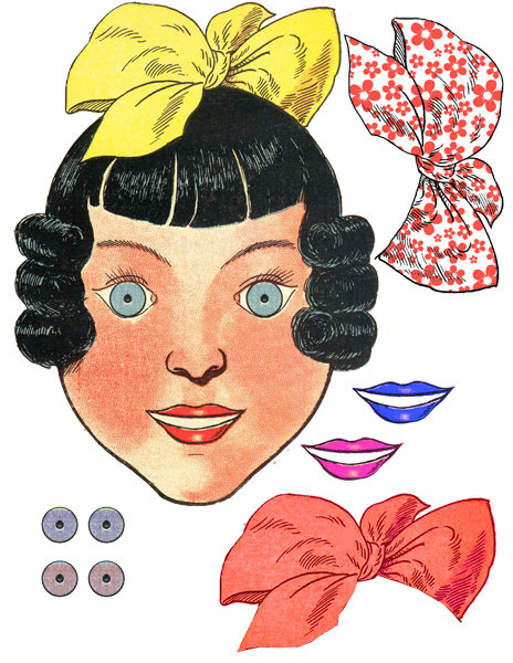 Freckles clipart dall Paper paper doll scrapbooking