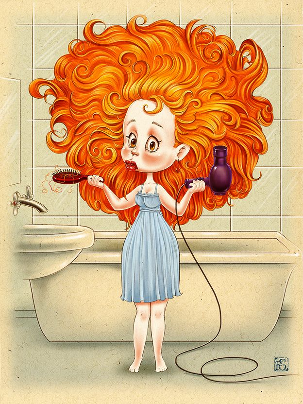 Red Hair clipart freckles On Red Hair❤ best
