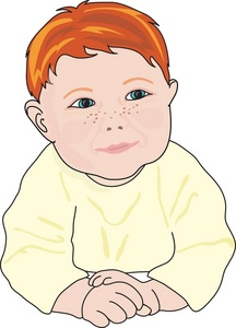 Red Hair clipart little baby Baby Image: with Image Baby