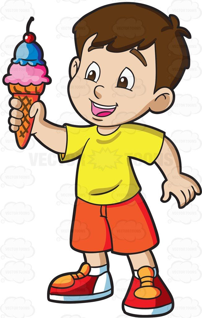 Freckles clipart preschool boy Cartoon Clipart 355 Cone A