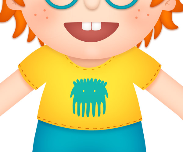 Ginger clipart red hair boy Create Haired a Step 27