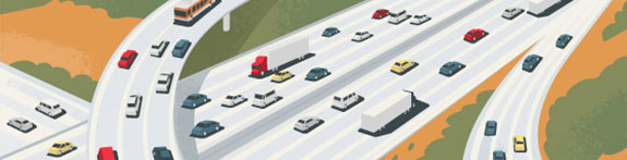 Highway clipart city traffic Clipart Art Panda Clip Free