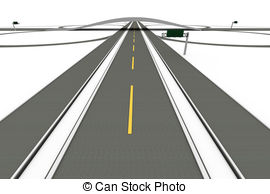 Freeway clipart road top view Images Interchange 3D  clip
