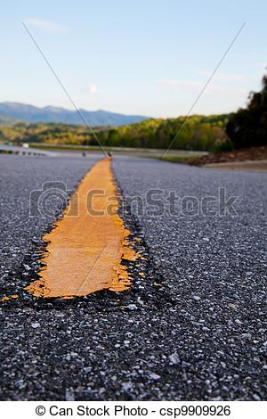 Freeway clipart asphalt The freeway Stock Dividing line