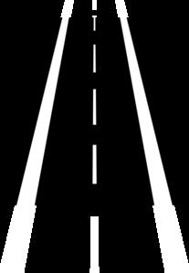 Highway clipart lane #1