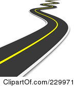 Highway clipart distance #1