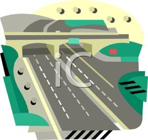 Highway clipart lane #2