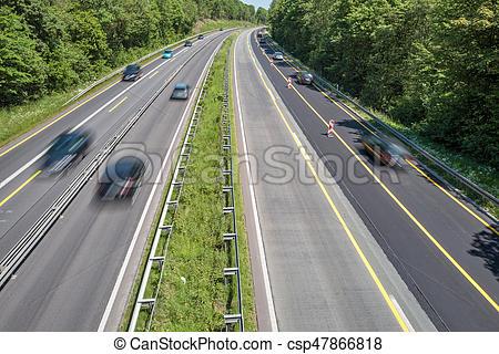 Freeway clipart city traffic Motorway German motorway Photo motorway