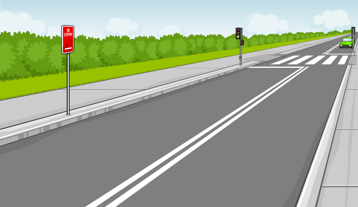 Highway clipart pedestrian lane Finished png green 2b have