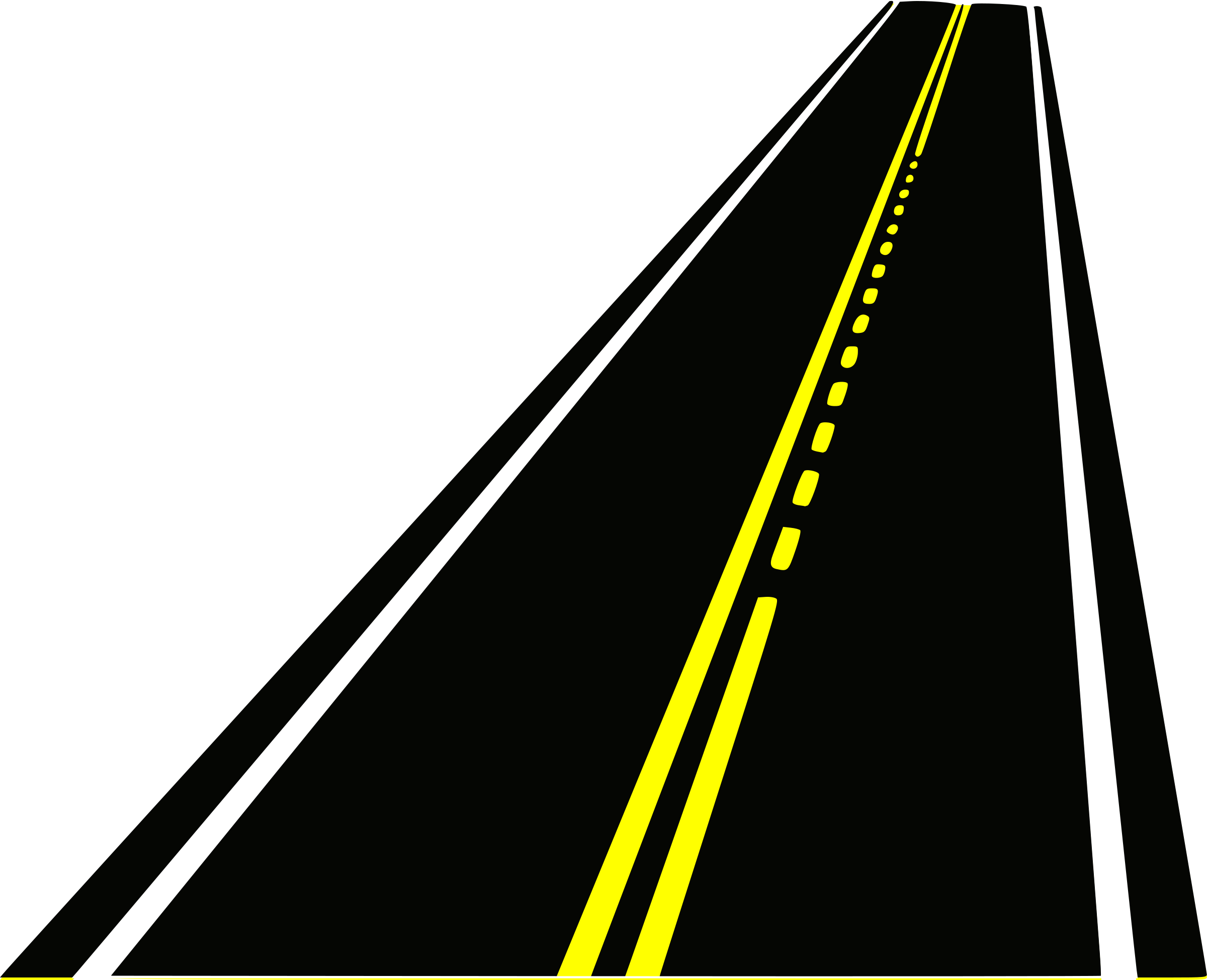 Freeway clipart road background #4