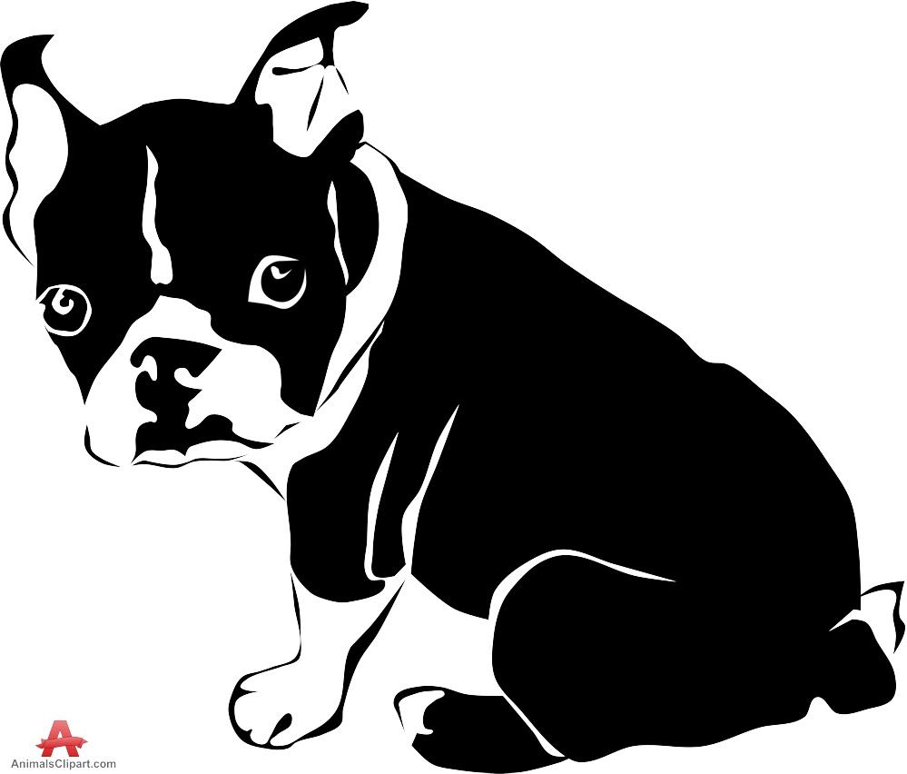 Bulldog clipart silhouette Clipart WikiClipArt French bulldog French