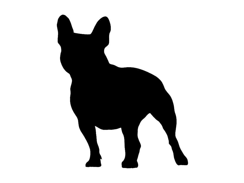 Bulldog clipart silhouette [DIY] Pinterest Bulldog Bulldog Puppy
