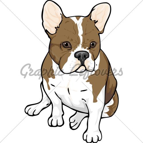 French Bulldog clipart Bulldog License · Images Stock