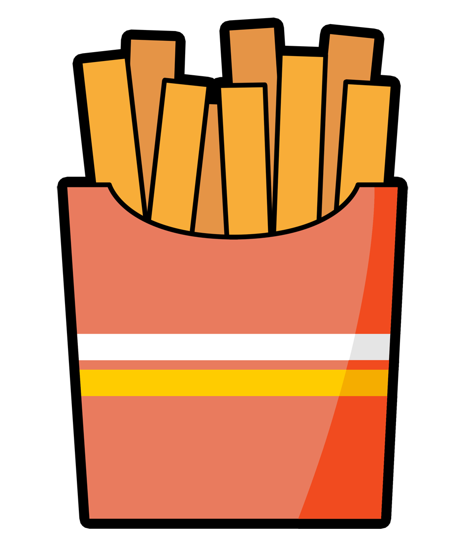 French Fries clipart #14