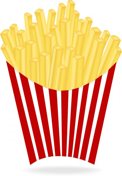 French Fries clipart #5