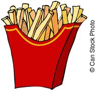 French Fries clipart #7