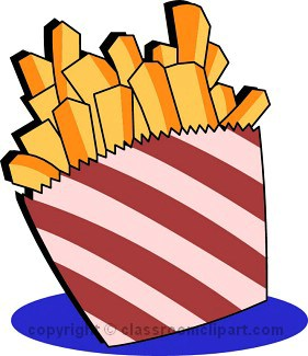 French Fries clipart French 73 Fast for Fries