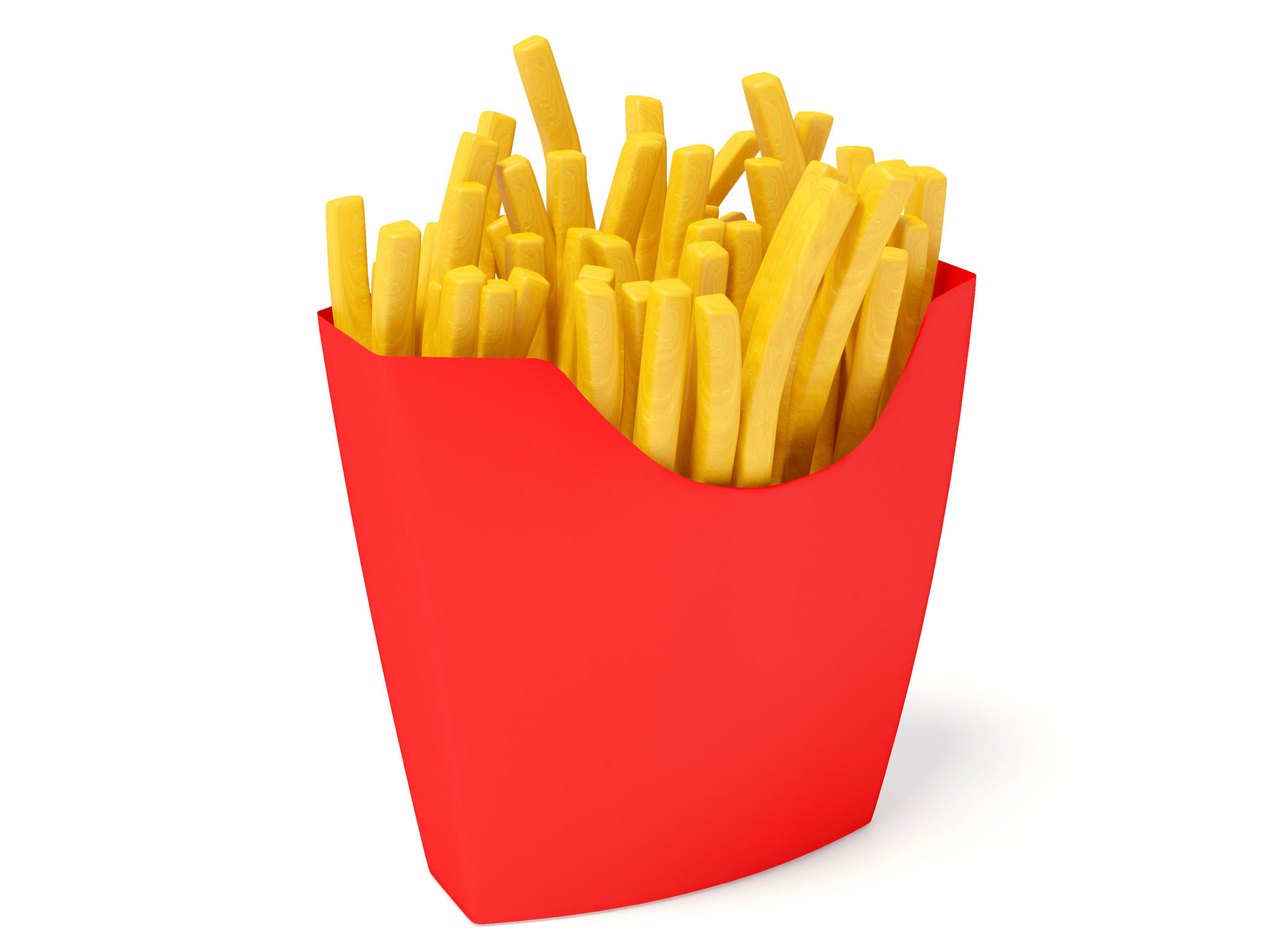 French Fries clipart #10
