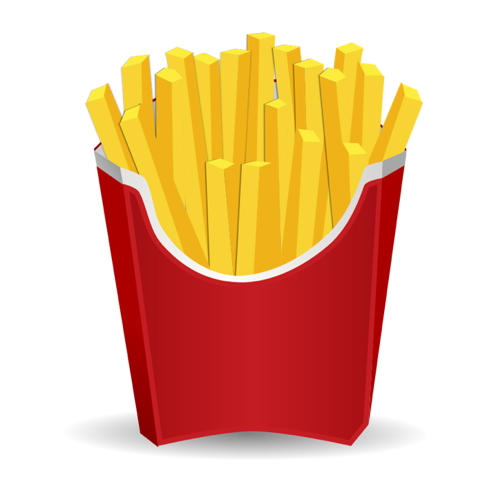 French Fries clipart #1