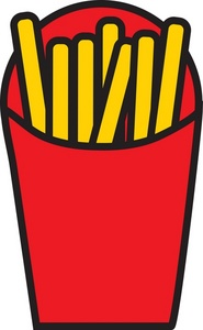 McDonald's clipart junk food Food Image French Clipart French