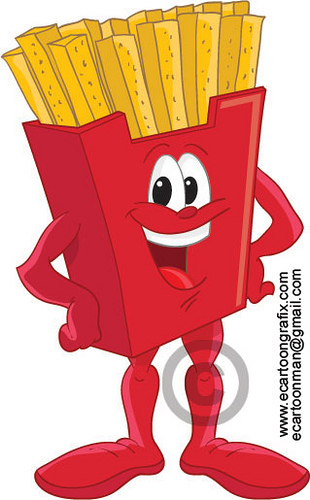 French Fries clipart animated Cartoon Canyon 310x500 Car Sharing