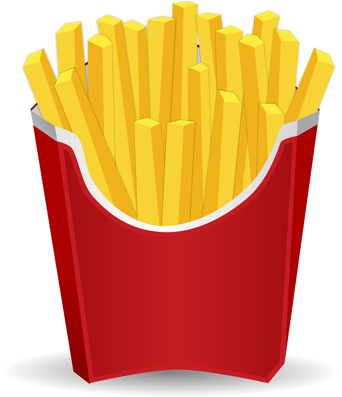 French Fries clipart animated And 0013 image ▷ Chips