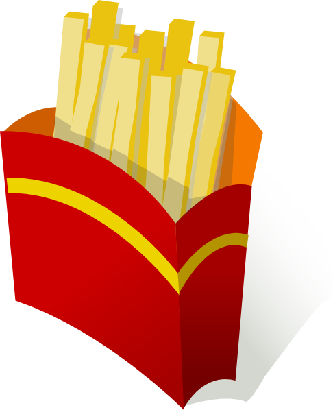 French Fries clipart animated Image Clip Fries Art at