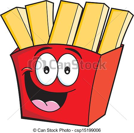 French Fries clipart animated French of illustration smiling Fries