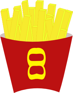 French Fries clipart animated Clip Clip Fries Art at