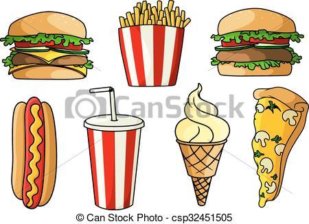 Burger clipart pizza Burgers Pizza fries burgers fries