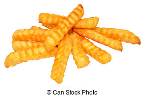 French Fries clipart crinkle cut 362 Crinkle Chips fried Photo