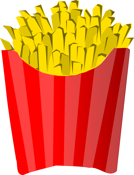 McDonald's clipart french fry Art at Clker vector this