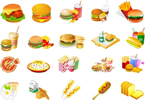French Fries clipart fast food Download westernstyle vector) clip fries