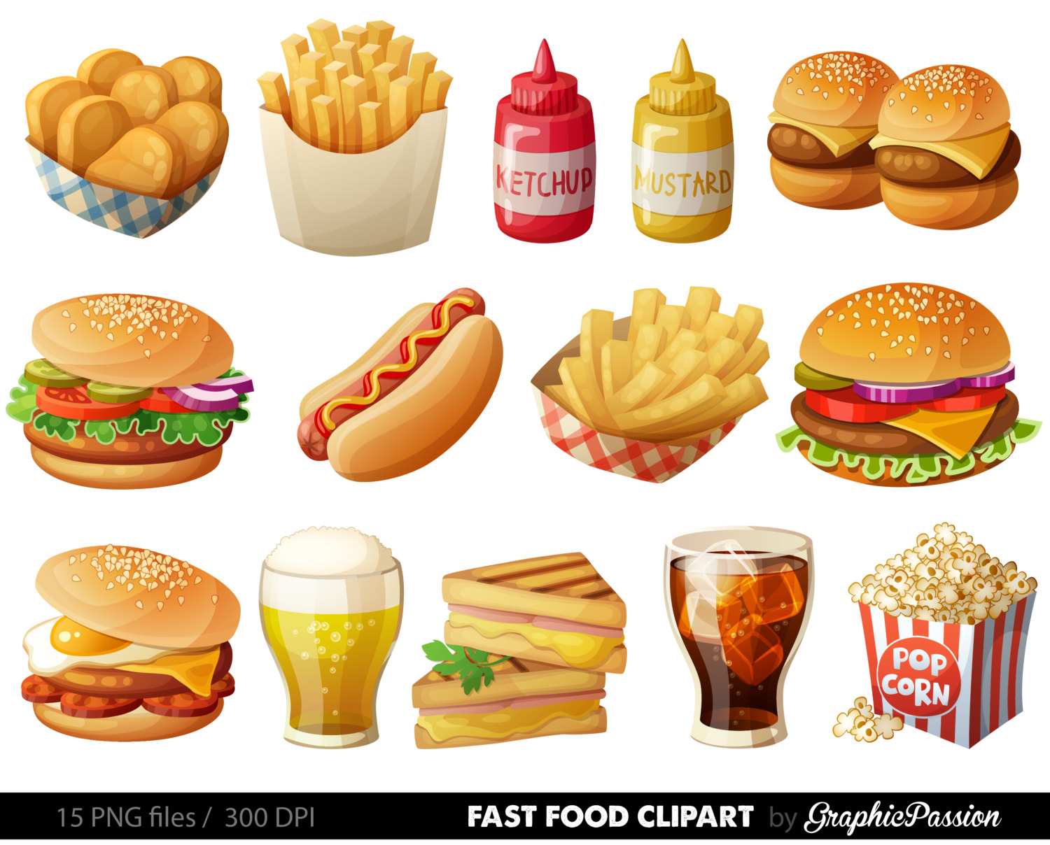 French Fries clipart food Graphic Food Hamburger Clip is