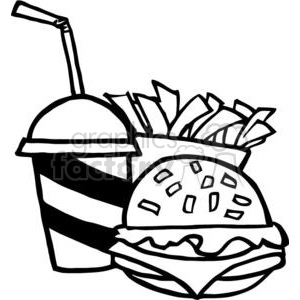 French Fries clipart food And Fries Free Fast Food