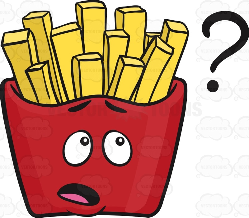 French Fries clipart food Fries Of Fries Emoji fries