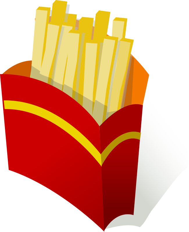 French Fries clipart food Clipart Fries Food Clipart:: a