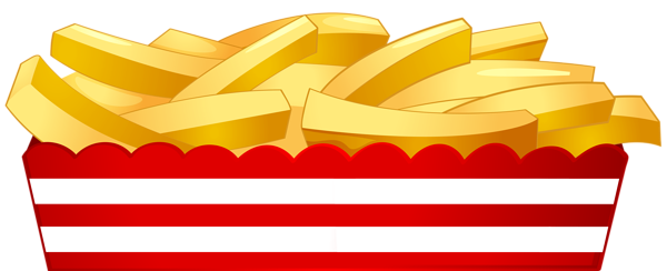 French Fries clipart food Png Clip Image image Fries